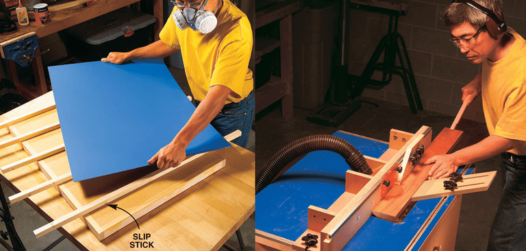 9 free diy router table plans you can use right now cabinetmakers router table plan from american woodworker greentooth Choice Image