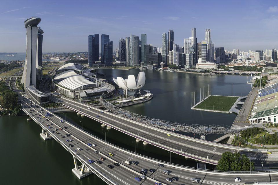 Singapore roads