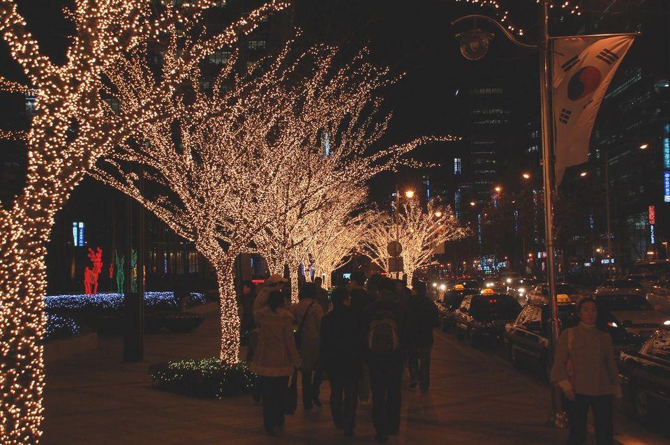 Christmas Lights in Korea