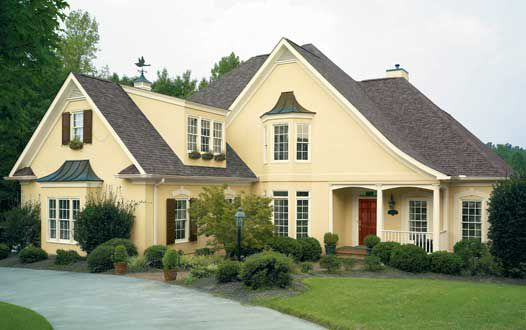Ideas and inspirations for exterior house colors inspirations - Exterior black paint ideas ...