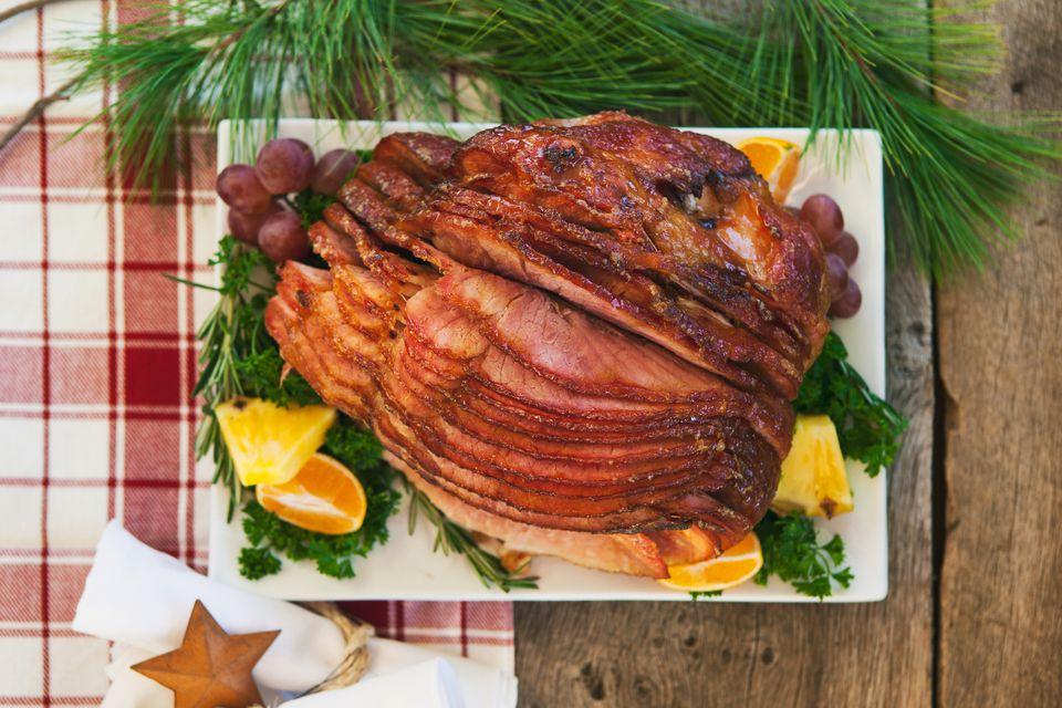 glaze a ham