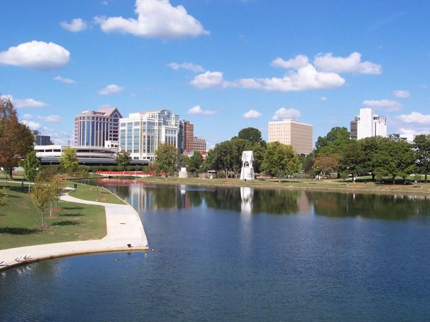 Big Spring Park in Downtown Huntsville (6 miles from AAMU)
