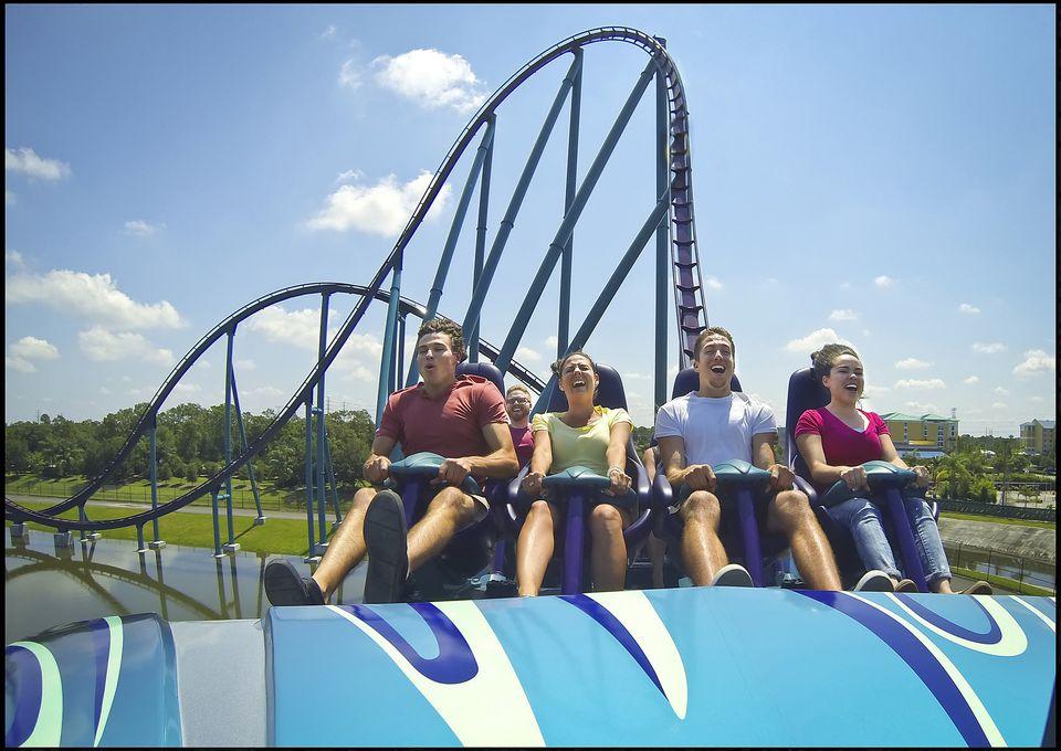 Mako coaster at SeaWorld Orlando