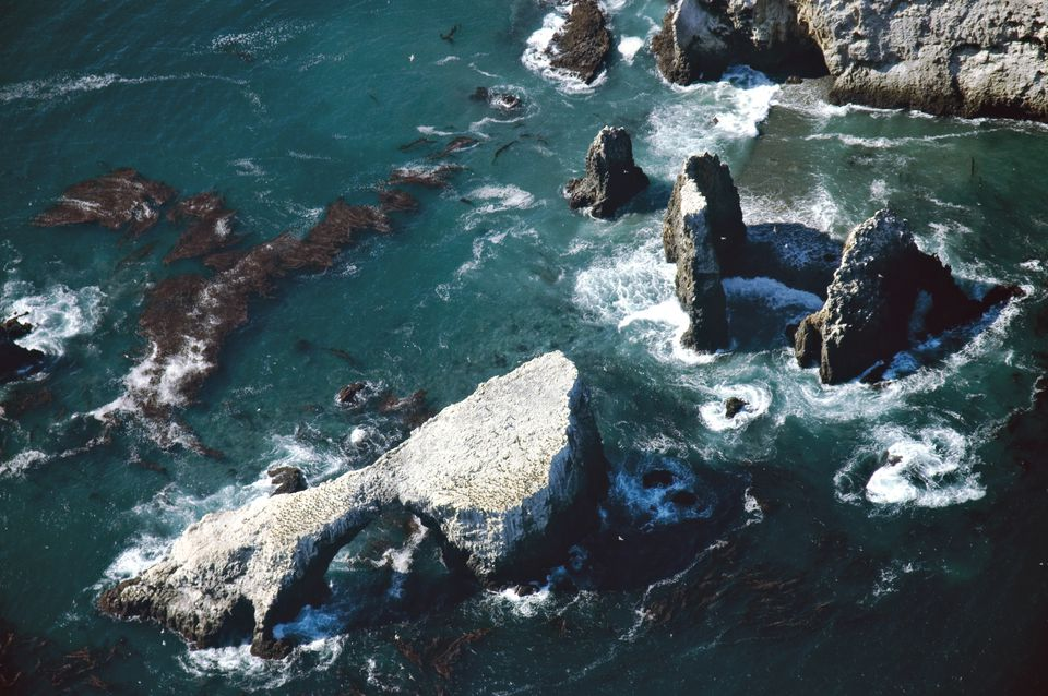 Arch Rock on Anacapa Island in the Channel Islands