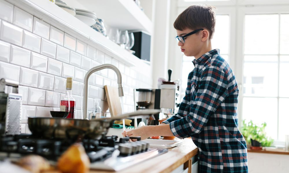 Chore charts can inspire teens to get their chores done.