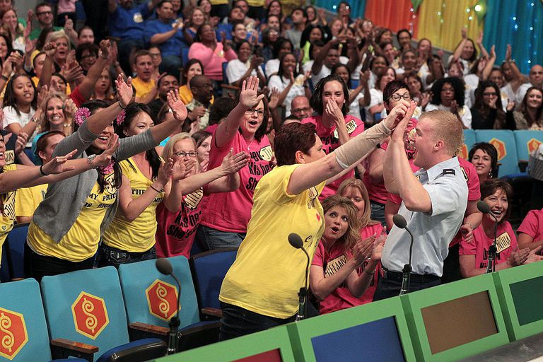Price is Right Contestant's Row