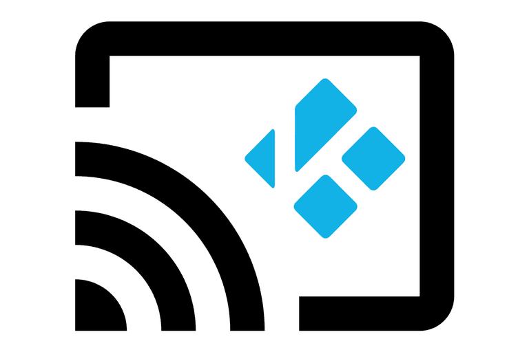Chromecast and Kodi logos
