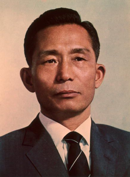 Former military general and dictator Park Chung Hee of South Korea.