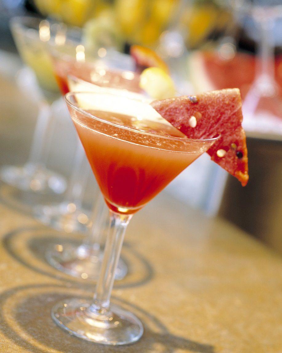 Recipe For Fresh Fruit Watermelon Martini