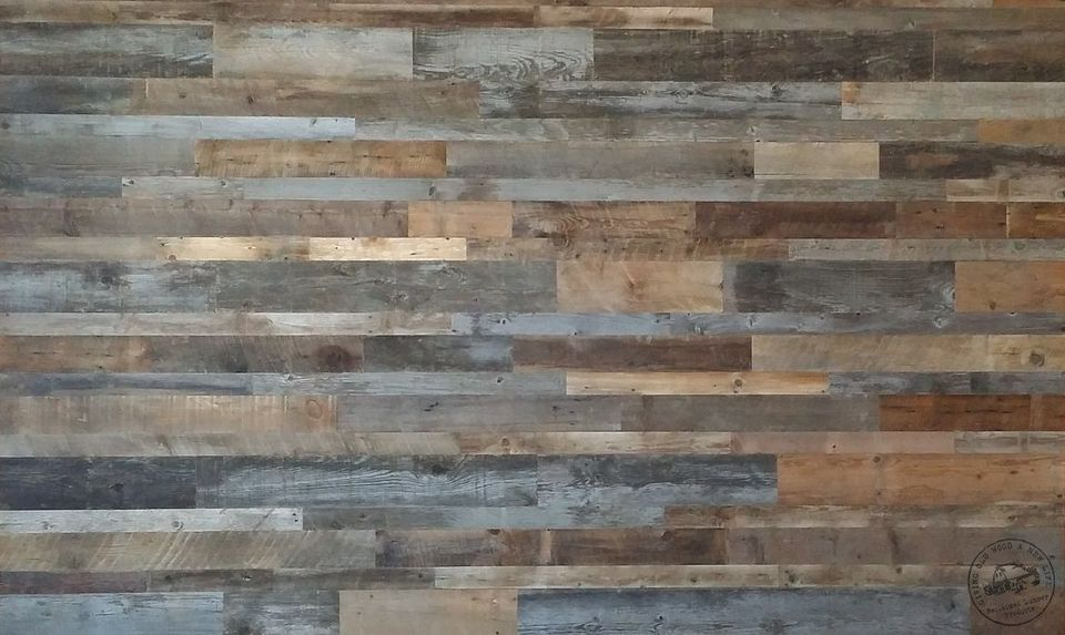 Places to buy real wood indoor paneling online for Reclaimed wood online