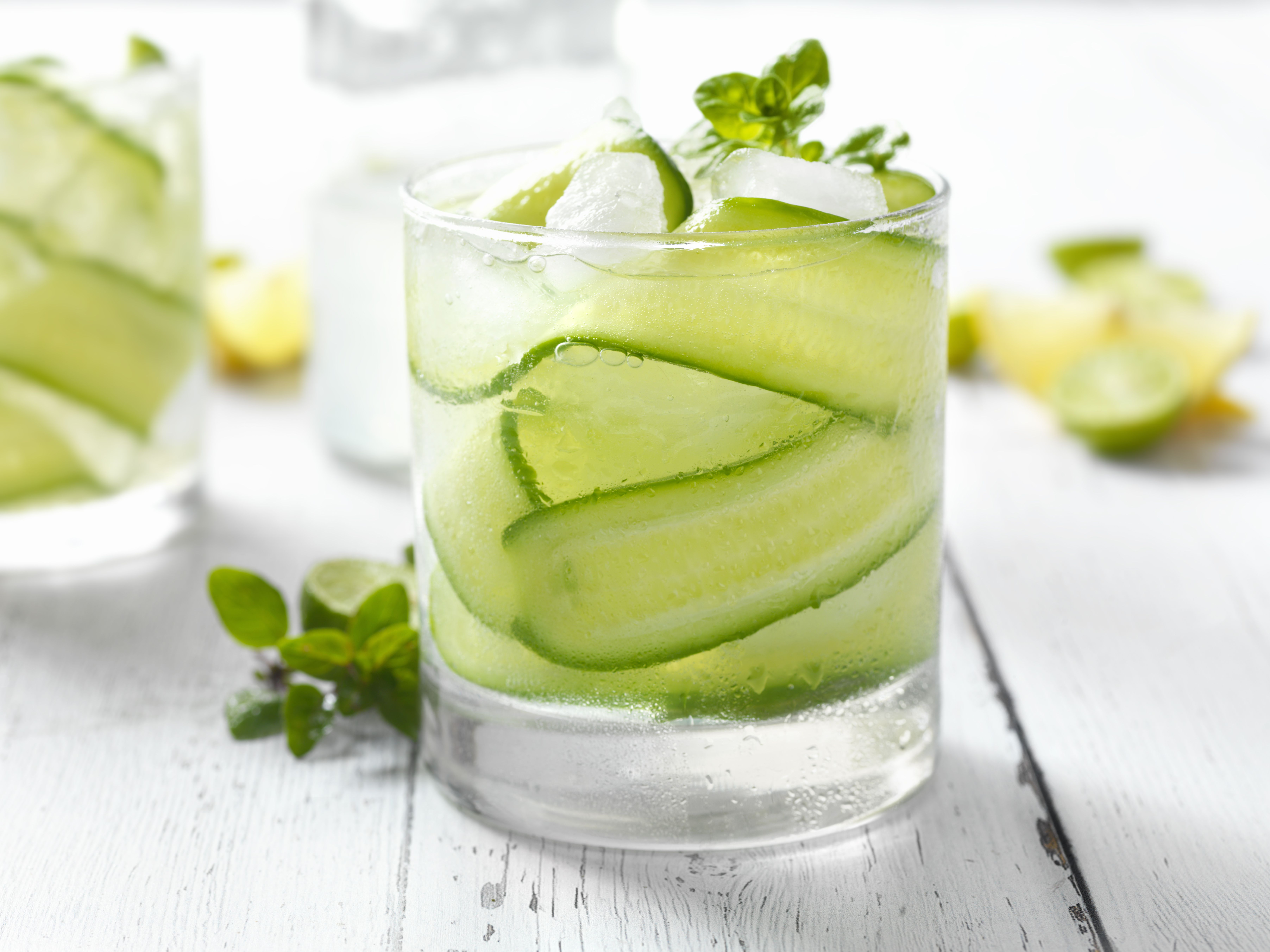 10 Crisp And Clean Cucumber Cocktails