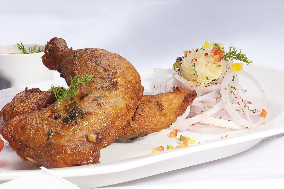 Grilled Butter Chicken