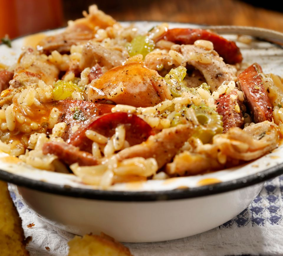 Creole Chicken and Rice