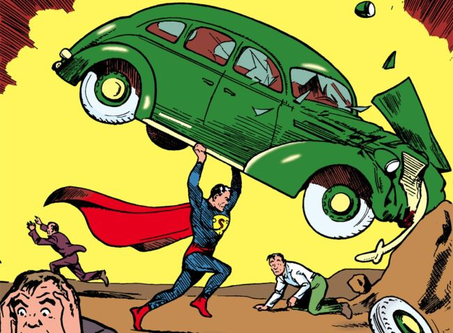 Cover of Action Comics #1 (1939)