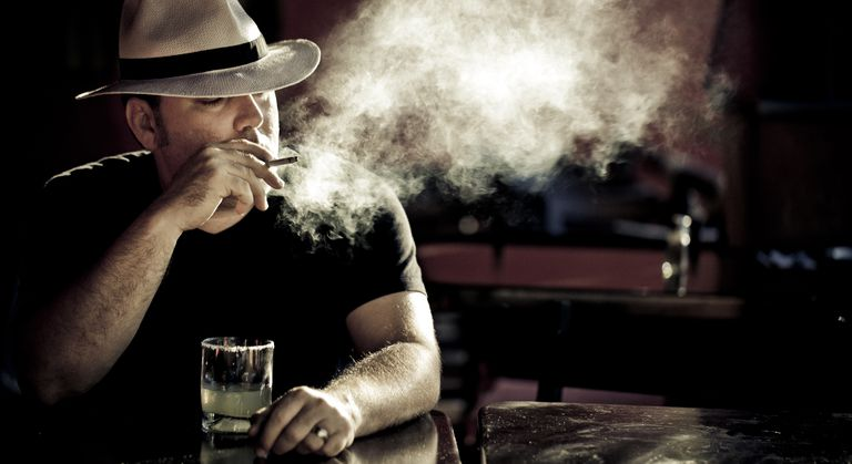 Excessive smoking and drinking can lead to laryngeal cancer