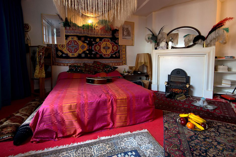 Jimi Hendrix's London flat is now a permanent museum