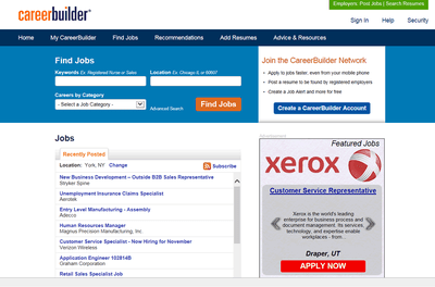 How to Find a Full or Part-Time Job on Careerbuilder.com