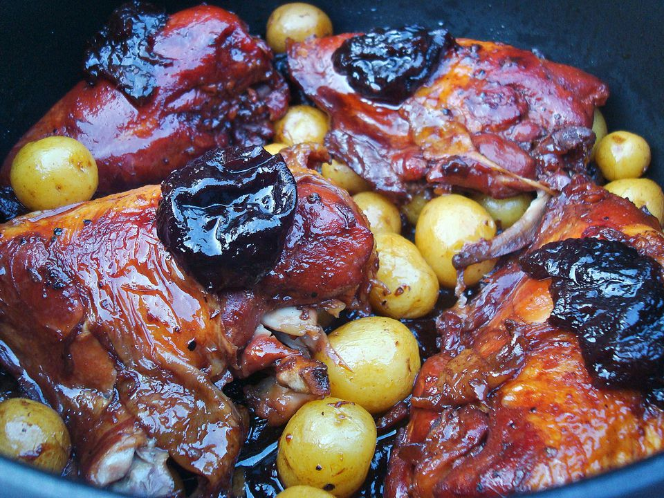 Chicken with Prune Tsimmes