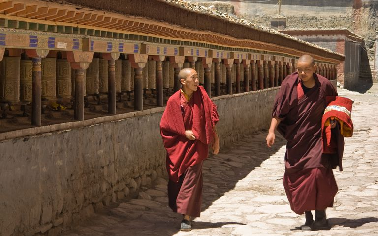 Sakya Monks