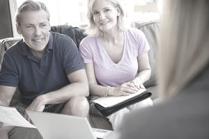 Couple trying to figure out how inflation and life expectancy will affect their retirement.