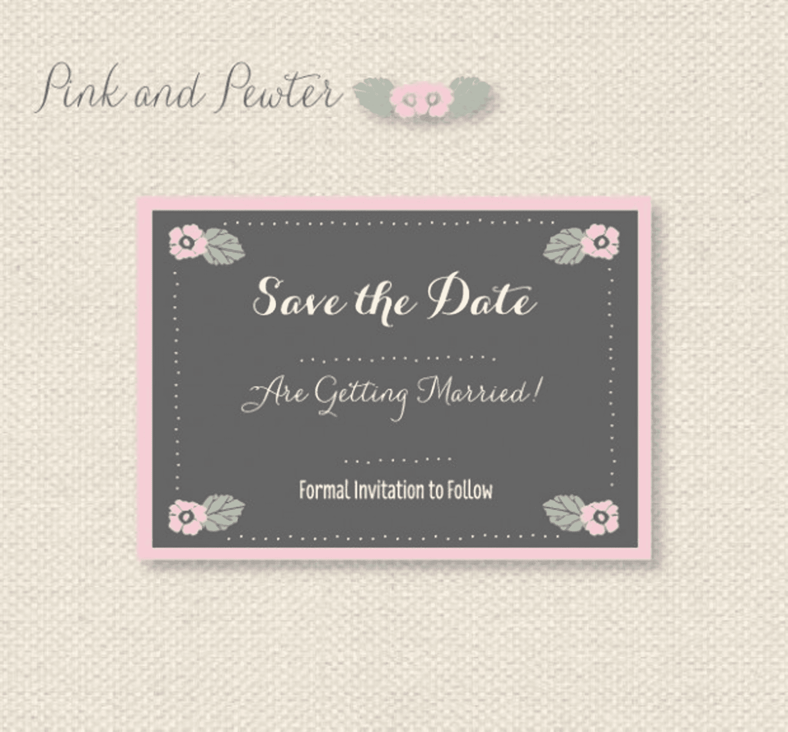 Free save the date templates pronofoot35fo Image collections