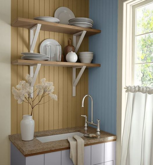 Country Kitchen Wall Colors: Kitchen Wall Colors To Inspire, Enlighten, And Spark Ideas