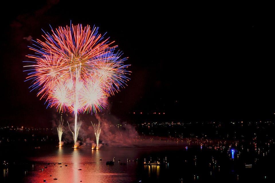 Fireworks, Lake Tahoe