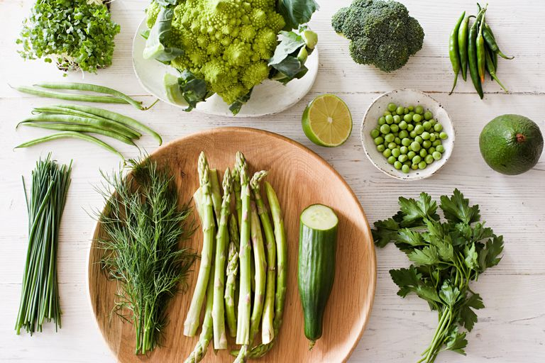 Raw vegetables can be eaten as part of the raw food diet.
