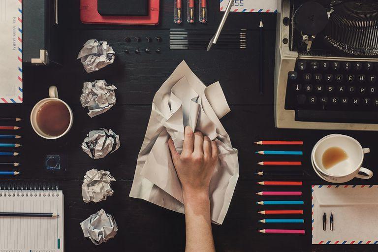 Wrinkled rough drafts