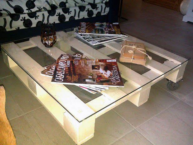 cmo hacer una mesa de centro con un palet de madera para el living - Palet De Madera