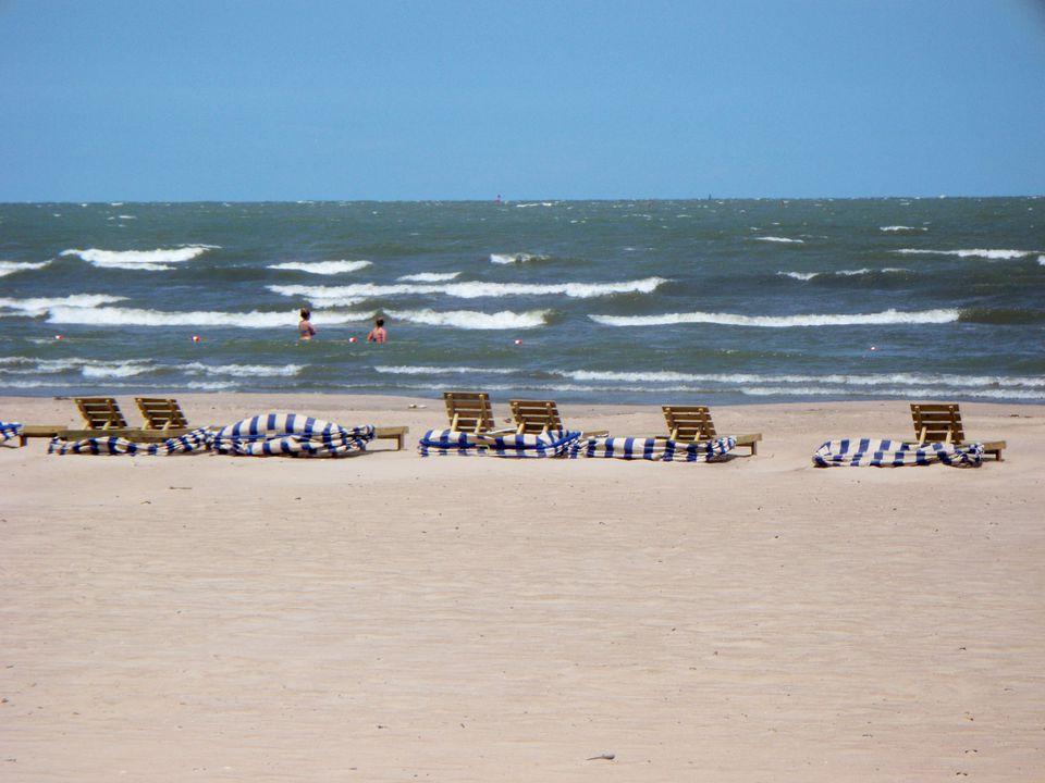 Beach Chairs at Cedar Point Beach