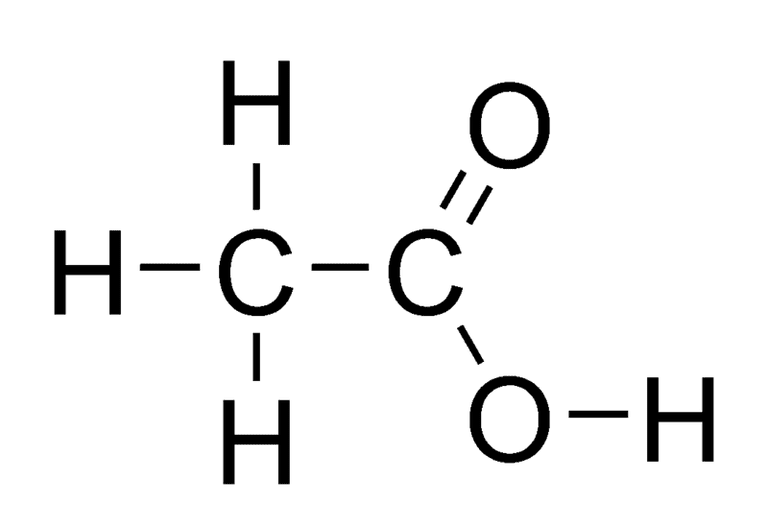 Acetic acid is also known as ethanoic acid.