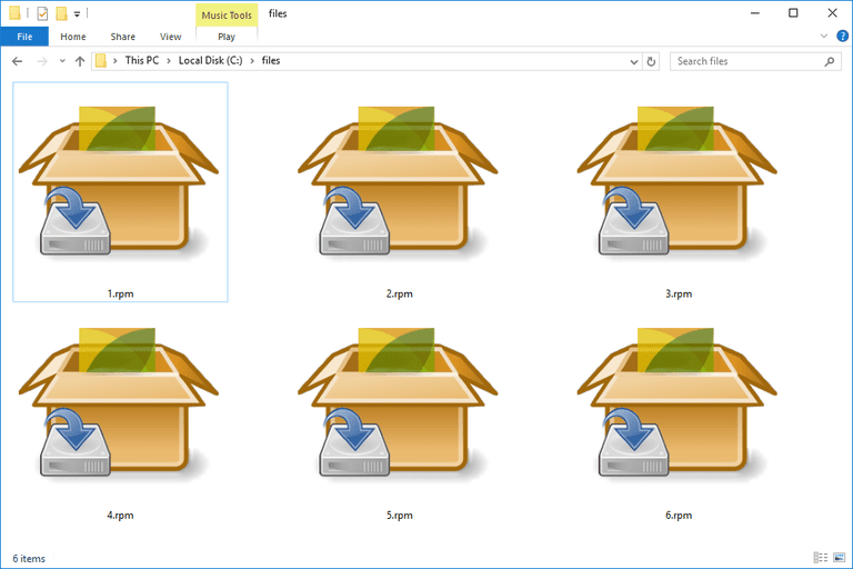 RPM Files