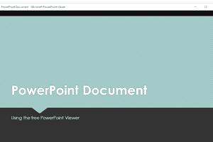 Online powerpoint viewer