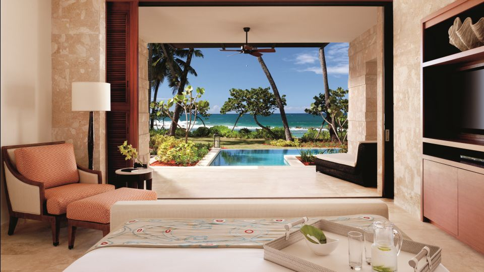 What a room looks like now at the resort that replaced Hyatt Dorado Beach.
