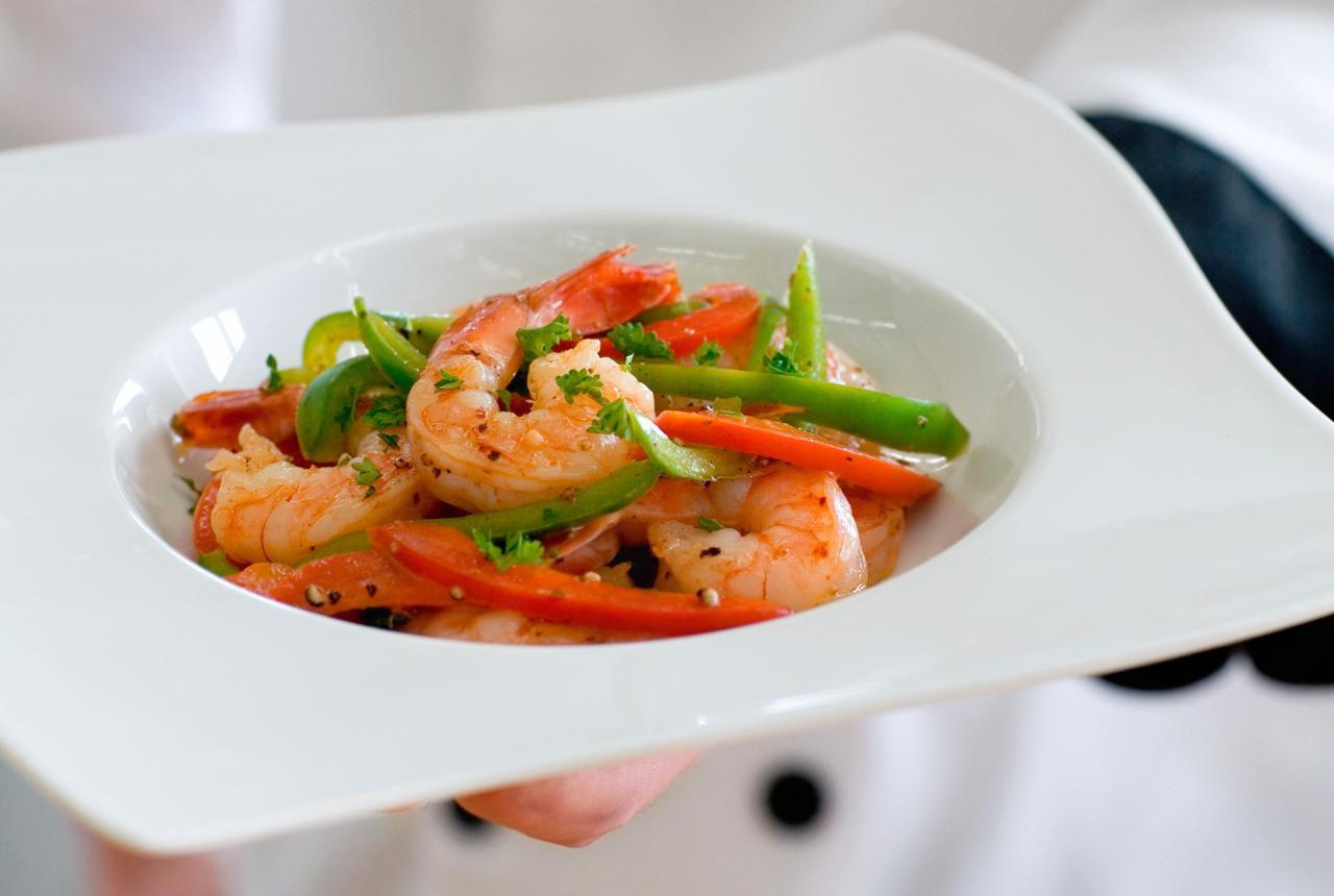 Thai Basil Shrimp Stir Fry Recipe