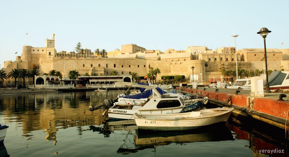Fishing port in Melilla