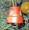 Clay Pot Christmas Bell Craft