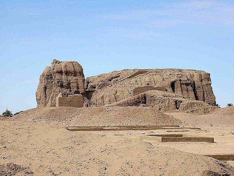 Western Deffufa in ancient city of Kerma, Nubia, Sudan