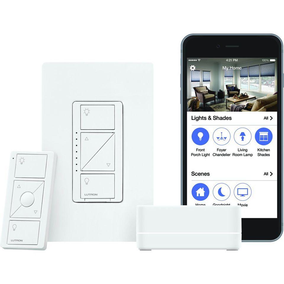 Lutron Caseta Wireless Smart Lighting Starter Kit