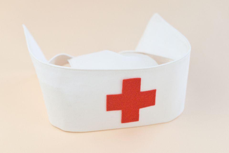 Easy-Sew Nurse Cap