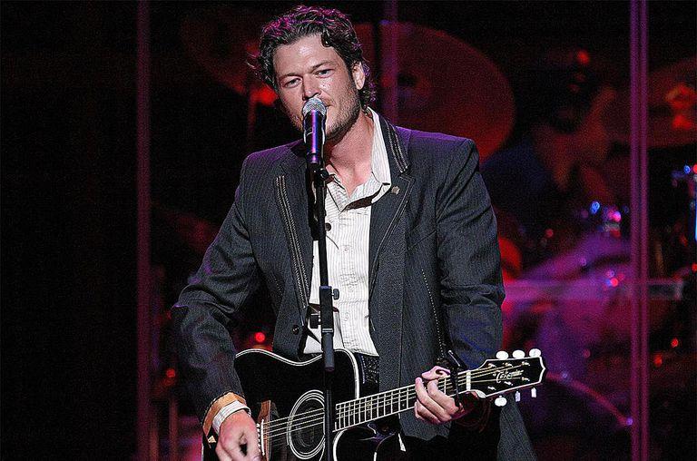 Country music star Blake Shelton