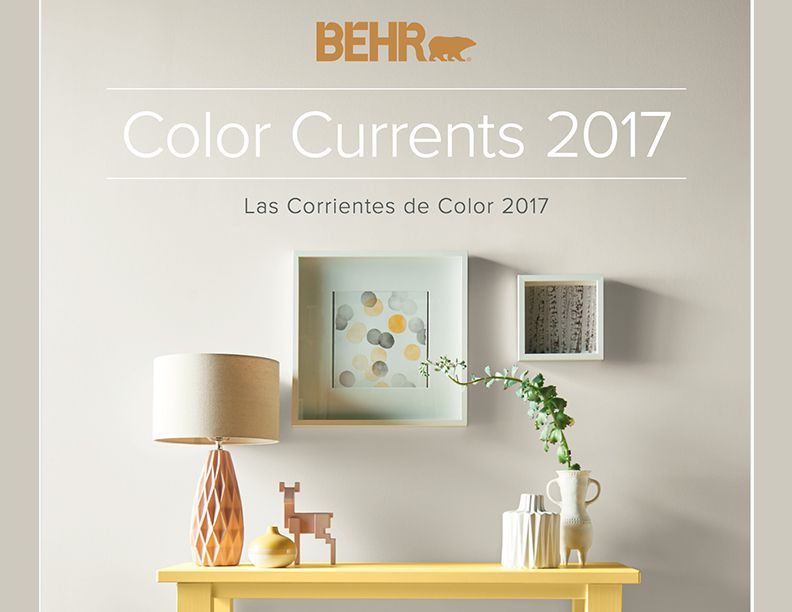 Behr Paint's Picture Perfect Color Currents For 2017