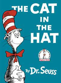 Cover art of The Cat in the Hat by Dr Seuss