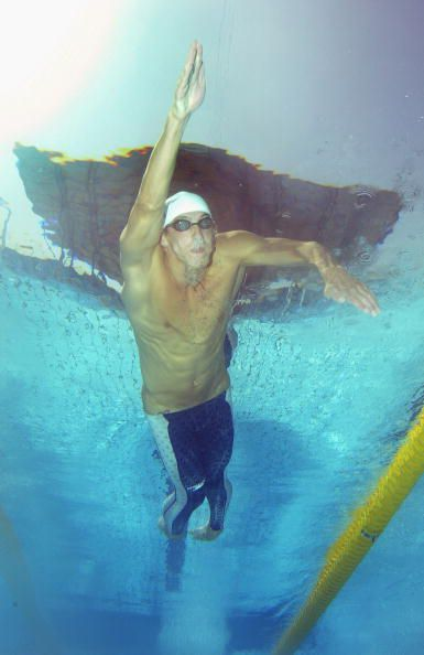 Michael Phelps High Elbow Pull