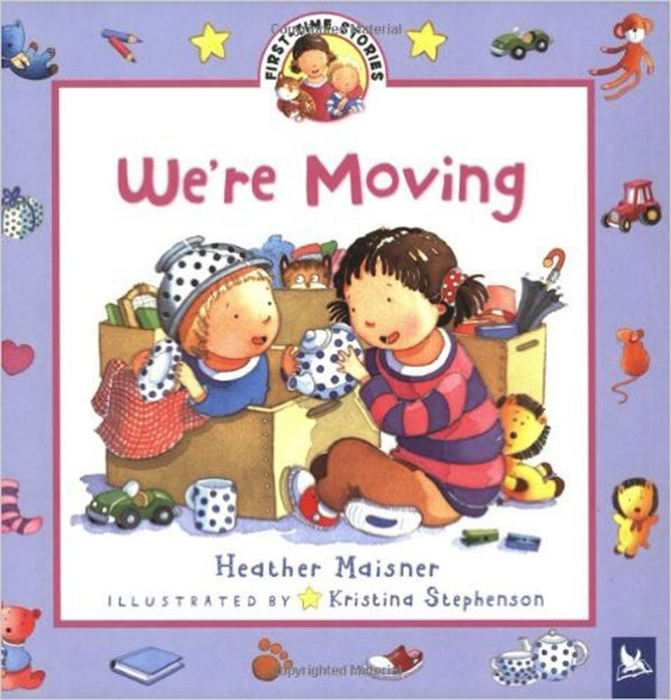 Book cover of We're Moving