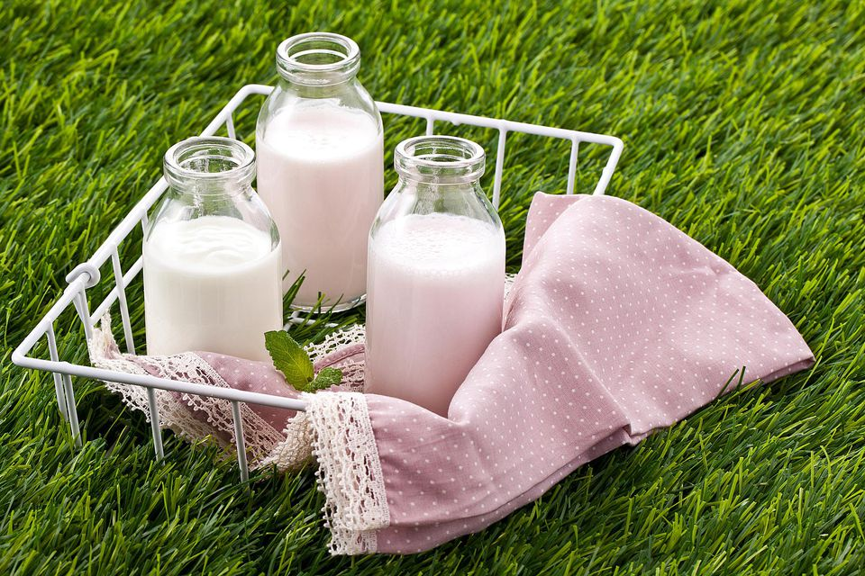 Dairy products (cream and milk)