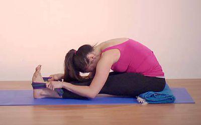 how to do reclined hero pose  supta virasana
