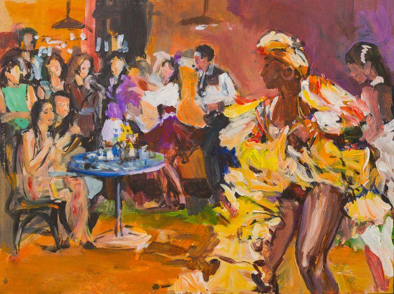 Bailarines de bachata