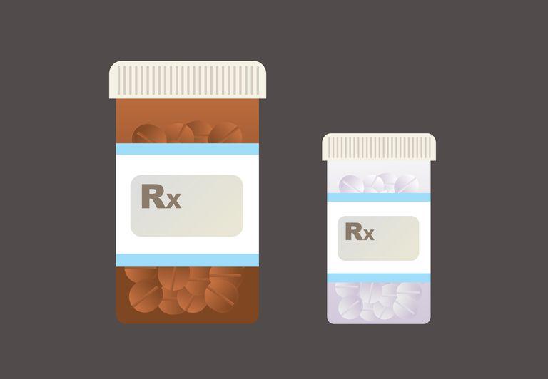 illustration of prescription pills
